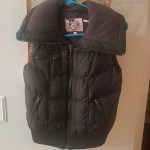 Petite Juicy Couture Puffer Vest